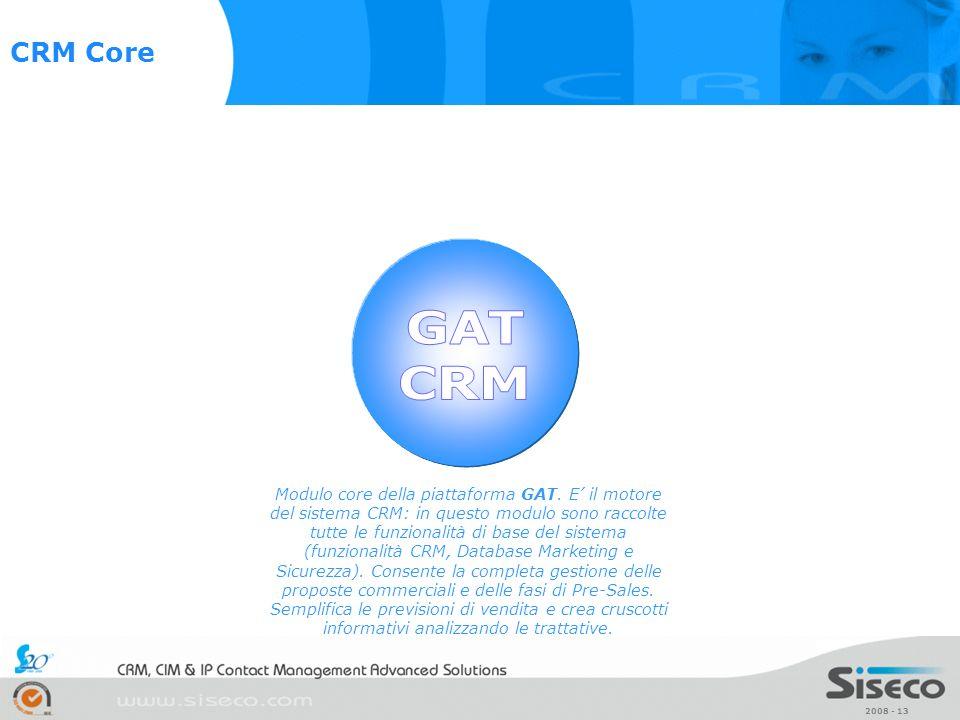 CRM Core GAT. CRM.