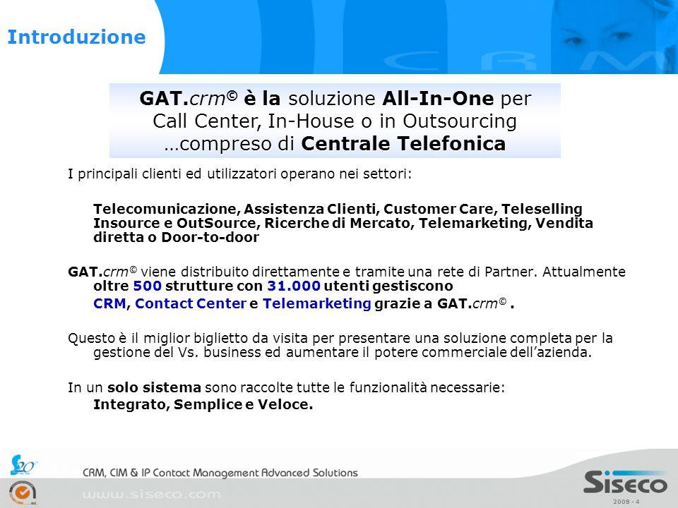 GAT.crm© è la soluzione All-In-One per