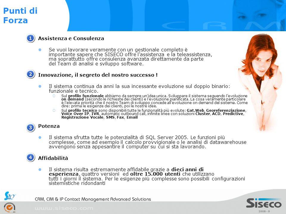 Punti di Forza Assistenza e Consulenza