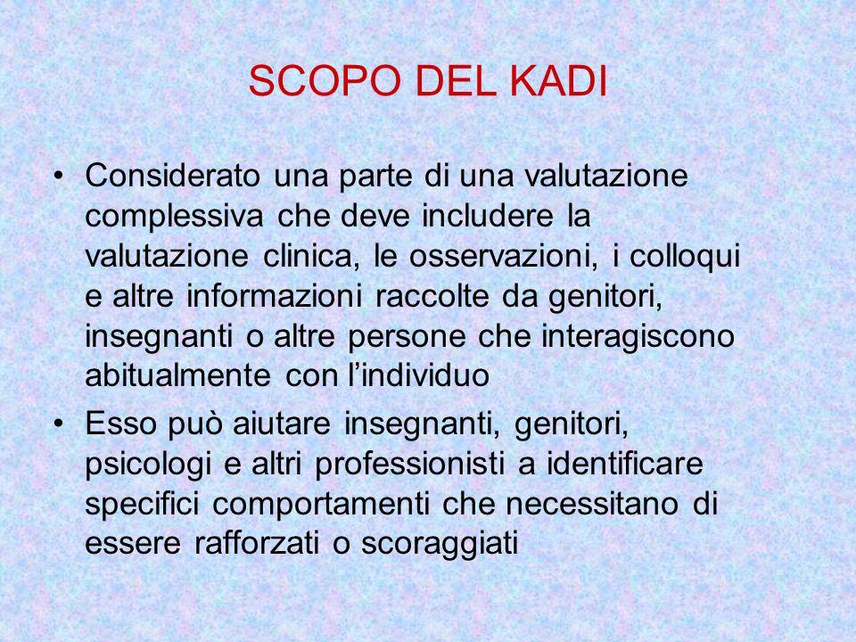 SCOPO DEL KADI