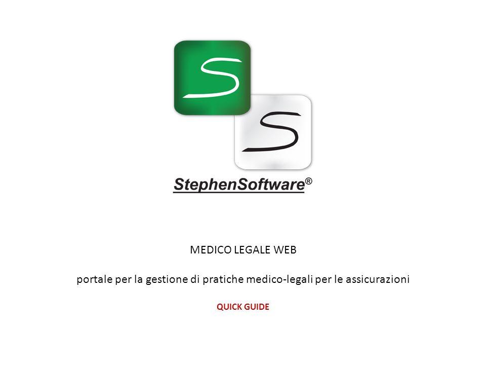 portale per la gestione di pratiche medico-legali per le assicurazioni