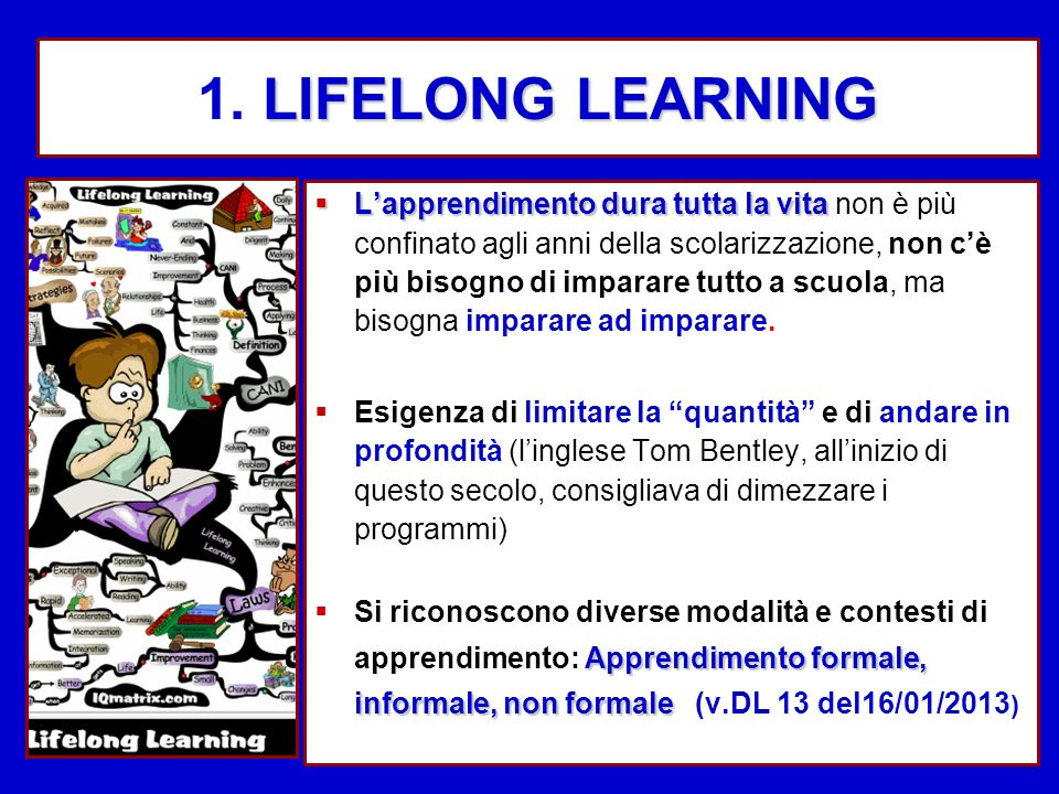 1. LIFELONG LEARNING