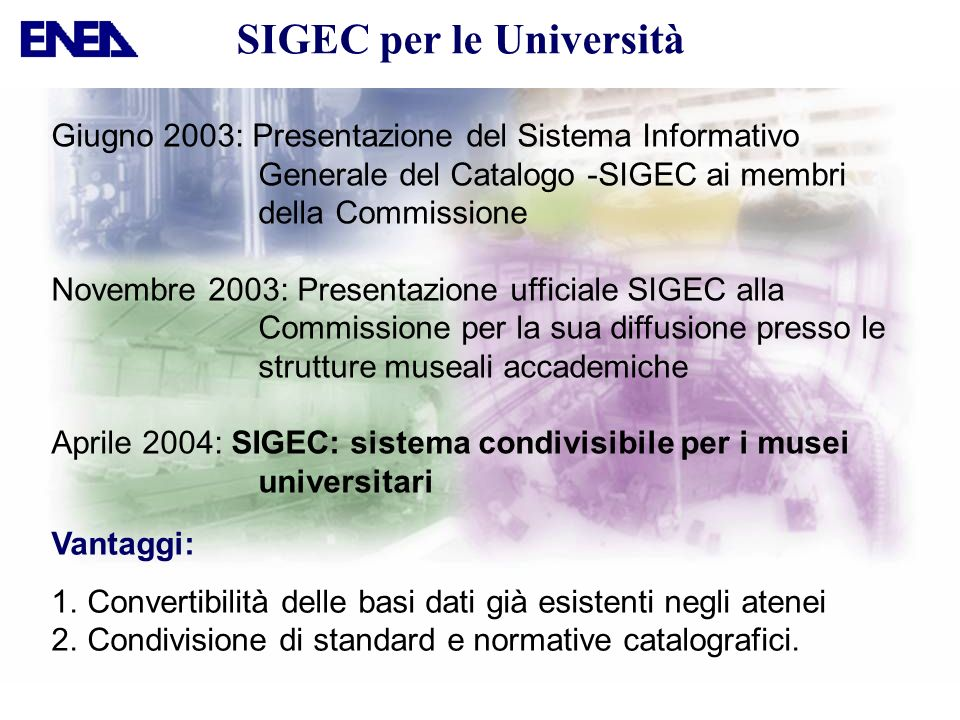 SIGEC per le Università