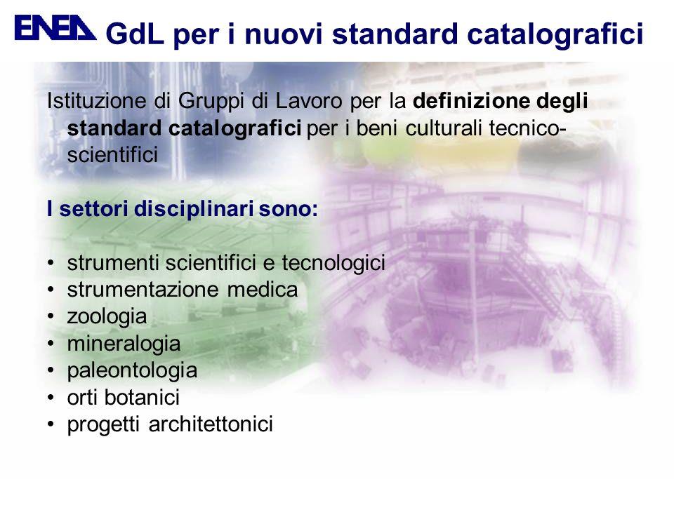 GdL per i nuovi standard catalografici