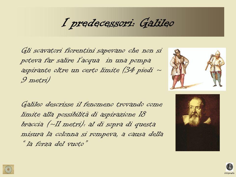 I predecessori: Galileo