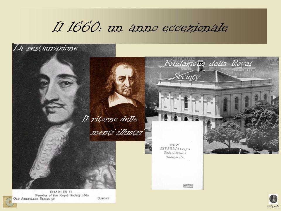Il 1660: un anno eccezionale