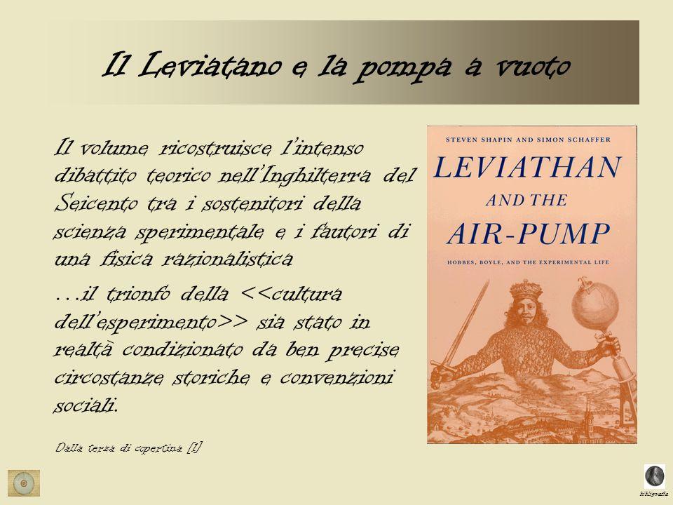 Il Leviatano e la pompa a vuoto