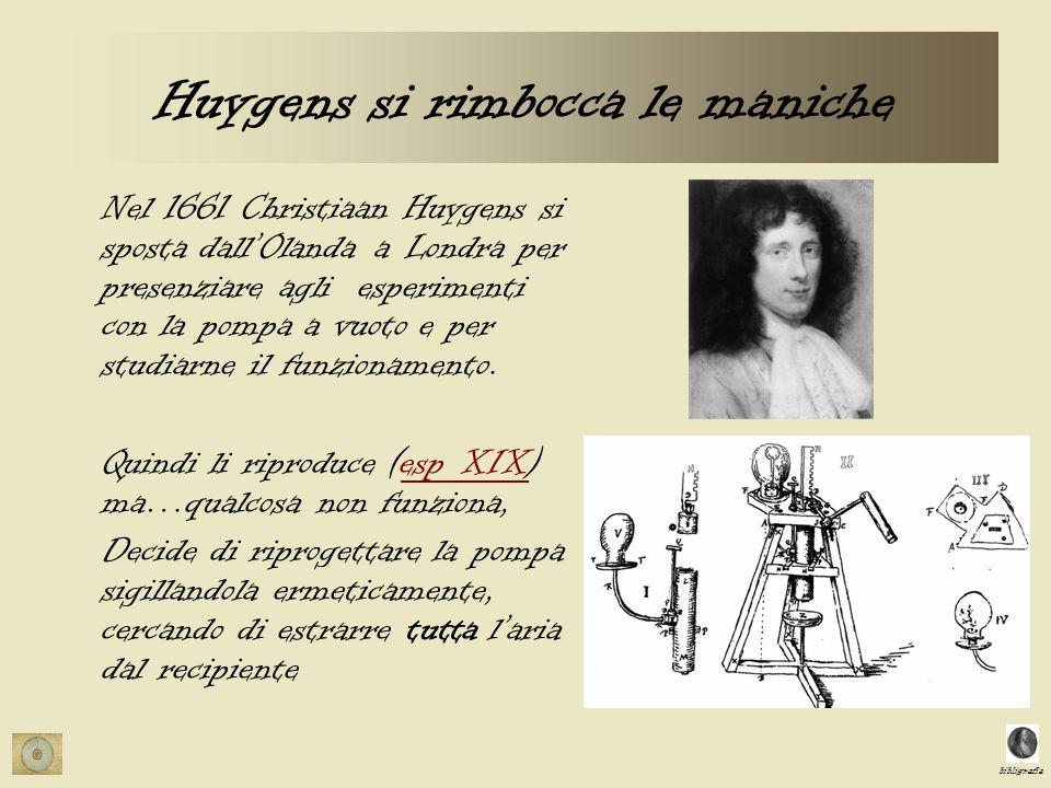 Huygens si rimbocca le maniche