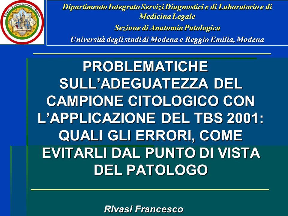Dipartimento Integrato Servizi Diagnostici e di Laboratorio e di Medicina Legale