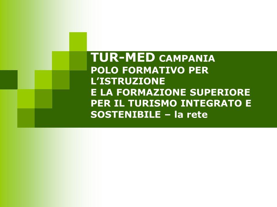 TUR-MED CAMPANIA POLO FORMATIVO PER L'ISTRUZIONE E LA FORMAZIONE SUPERIORE PER IL TURISMO INTEGRATO E SOSTENIBILE – la rete