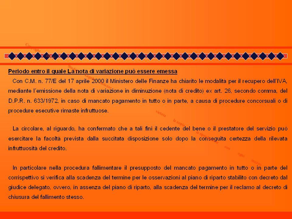 Copyright 2012 _ Studio Legale Solazzo vietata la copia e la riproduzione con ogni mezzo