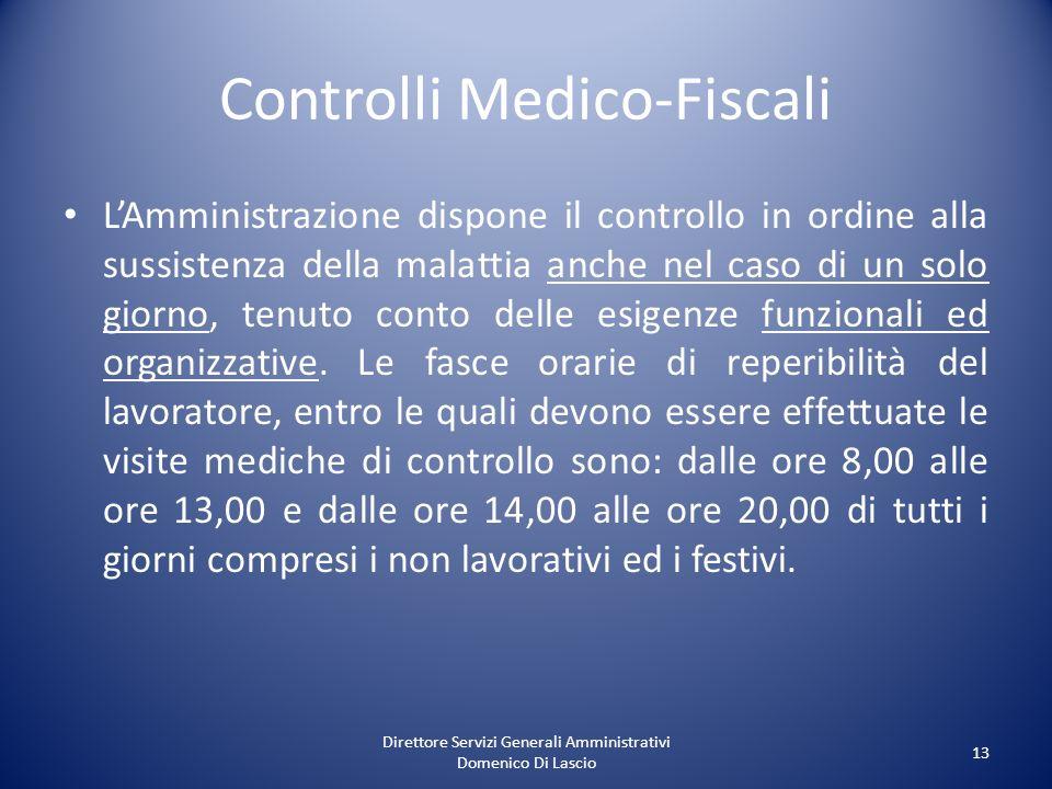 Controlli Medico-Fiscali