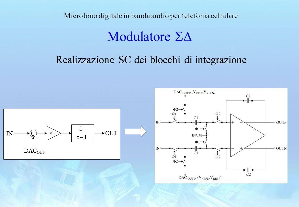 Realizzazione SC dei blocchi di integrazione