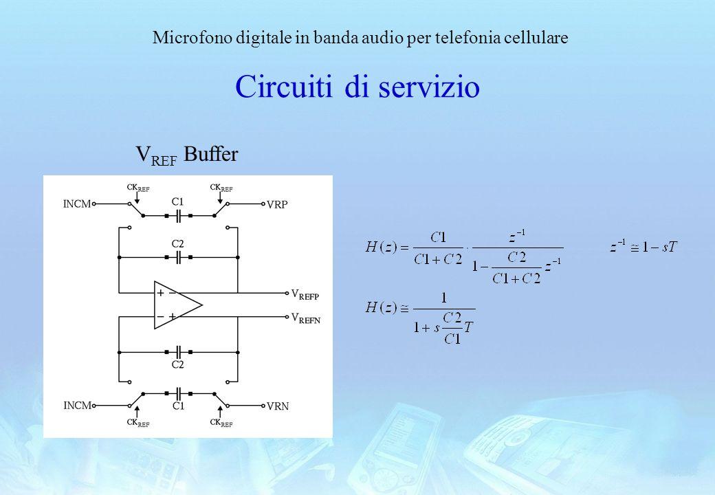 Circuiti di servizio VREF Buffer