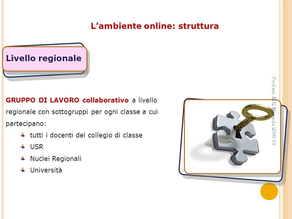 L'ambiente online: struttura