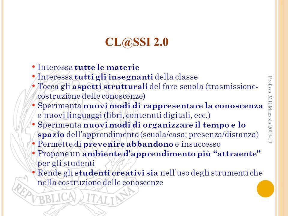 CL@SSI 2.0 Interessa tutte le materie