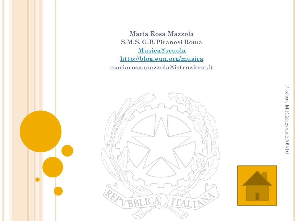 Maria Rosa Mazzola S.M.S. G.B.Piranesi Roma Musica@scuola