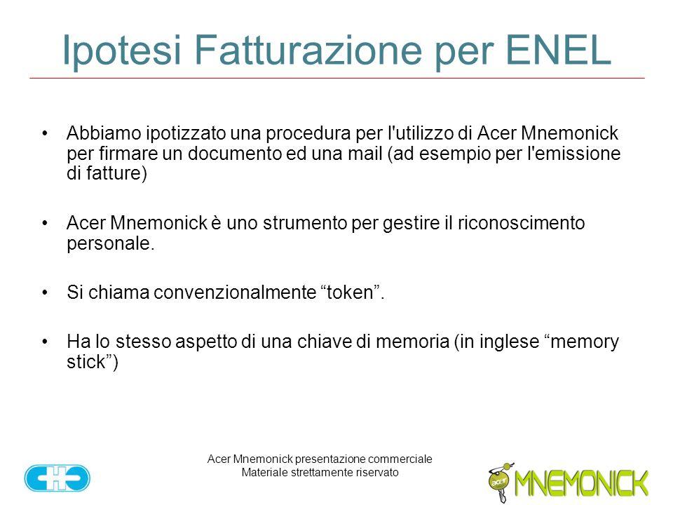 Ipotesi Fatturazione per ENEL