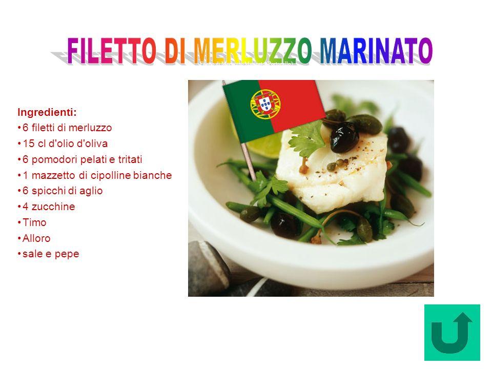 Filetto di Merluzzo Marinato (Portogallo)