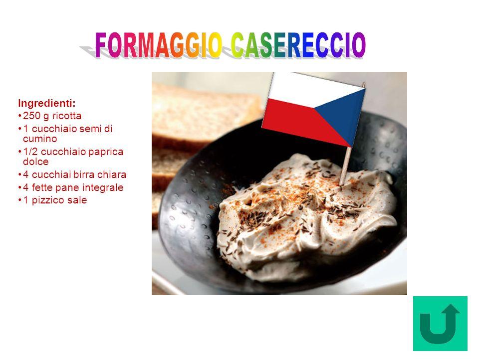 Formaggio Casereccio (Repubblica Ceca)