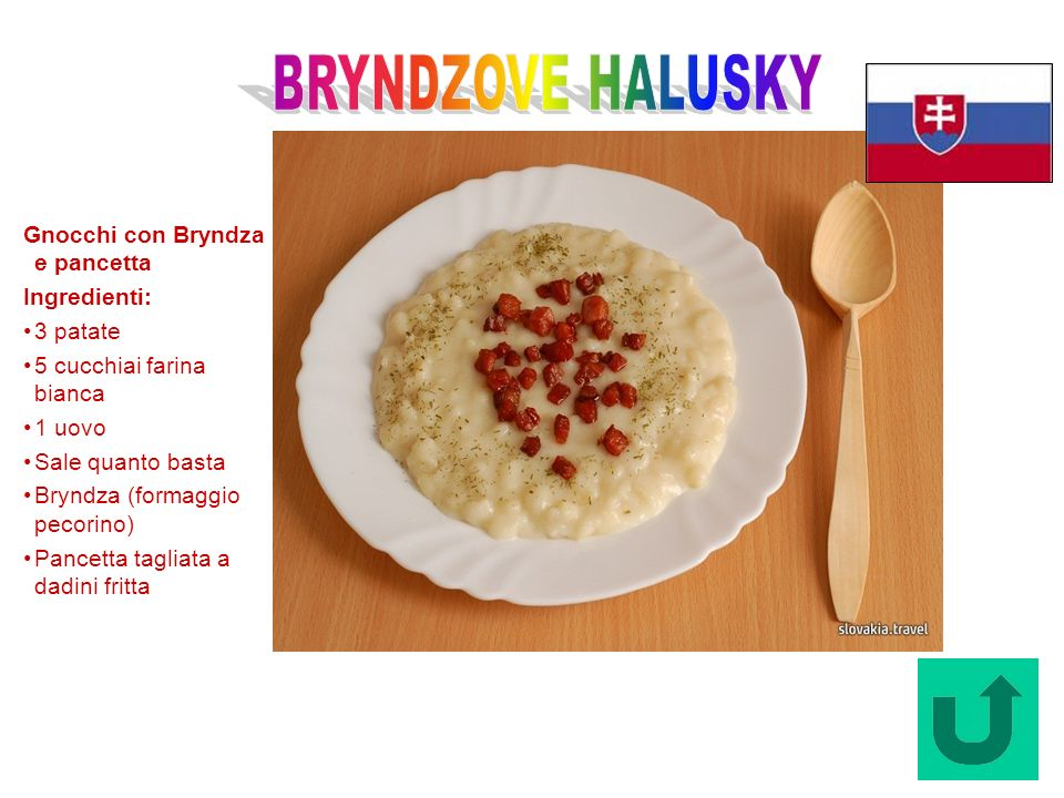 Bryndzove halusky (Slovacchia)