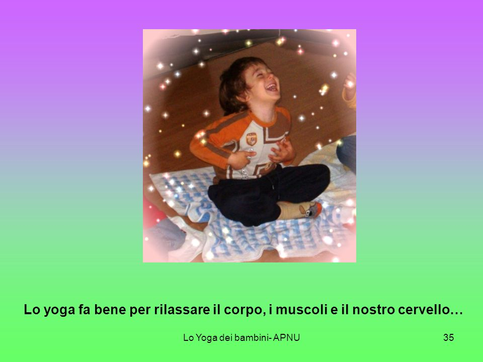 Lo Yoga dei bambini- APNU