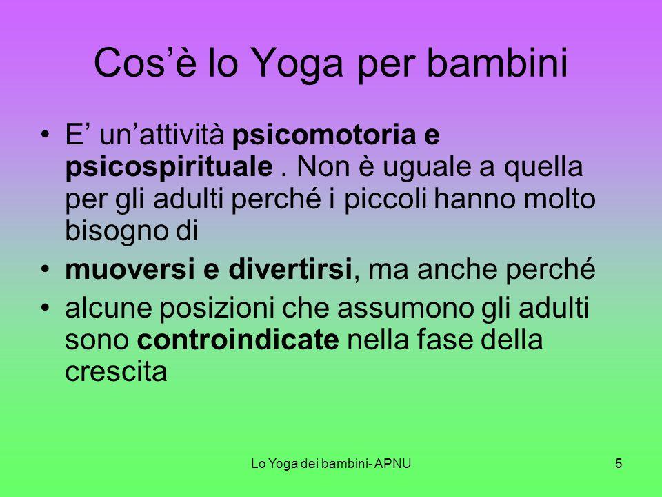 Cos'è lo Yoga per bambini