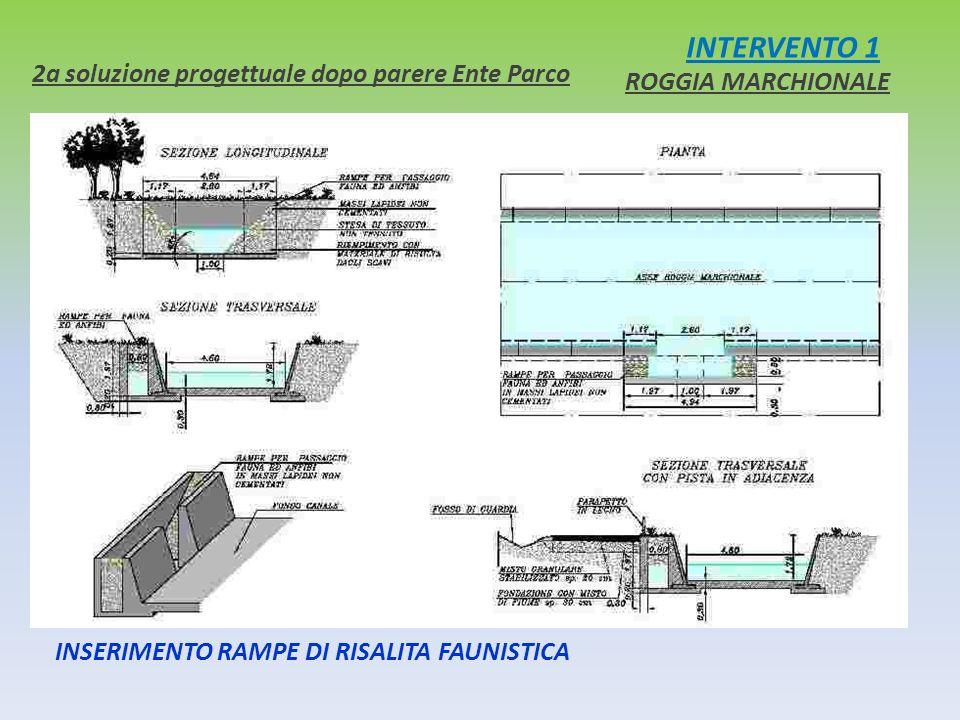 INTERVENTO 1 2a soluzione progettuale dopo parere Ente Parco