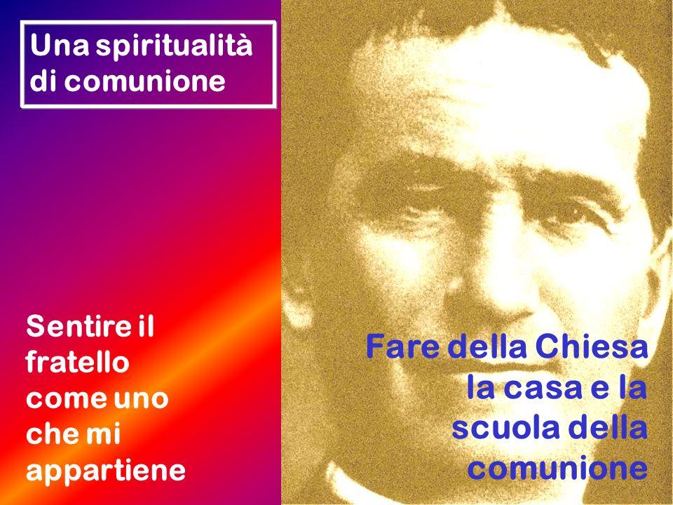 Fare della Chiesa la casa e la scuola della comunione