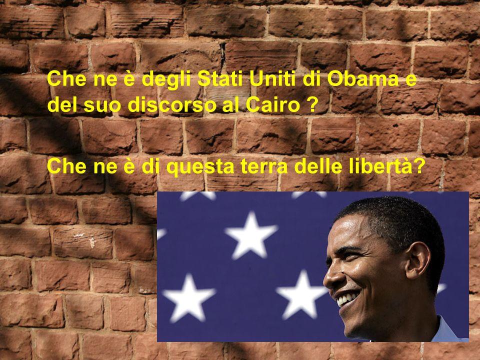Che ne è degli Stati Uniti di Obama e del suo discorso al Cairo