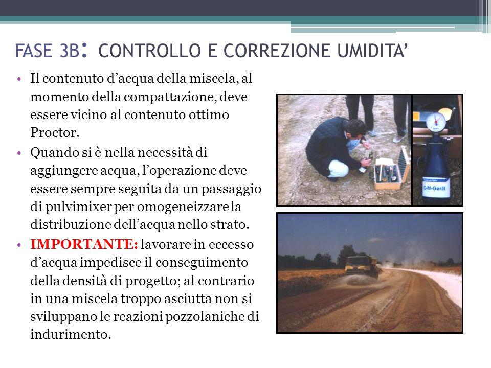 FASE 3B: CONTROLLO E CORREZIONE UMIDITA'