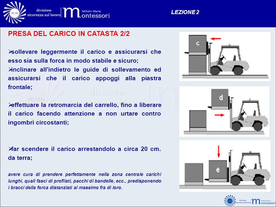 PRESA DEL CARICO IN CATASTA 2/2