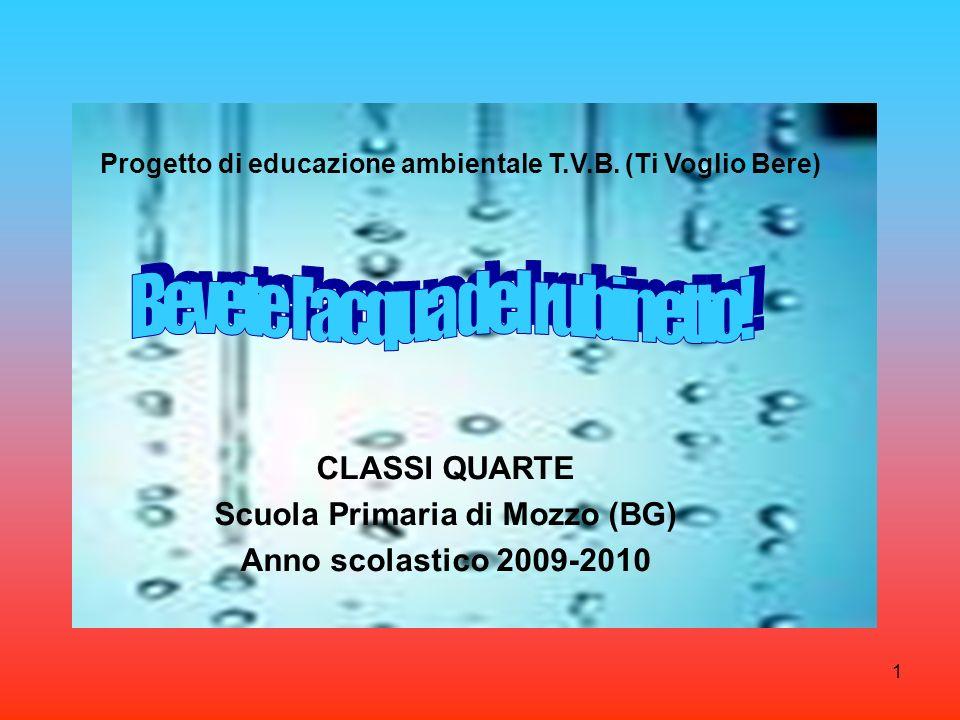 CLASSI QUARTE Scuola Primaria di Mozzo (BG) Anno scolastico 2009-2010