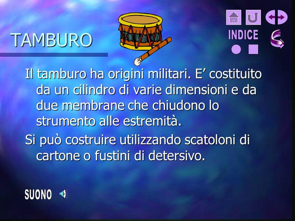 TAMBURO INDICE.