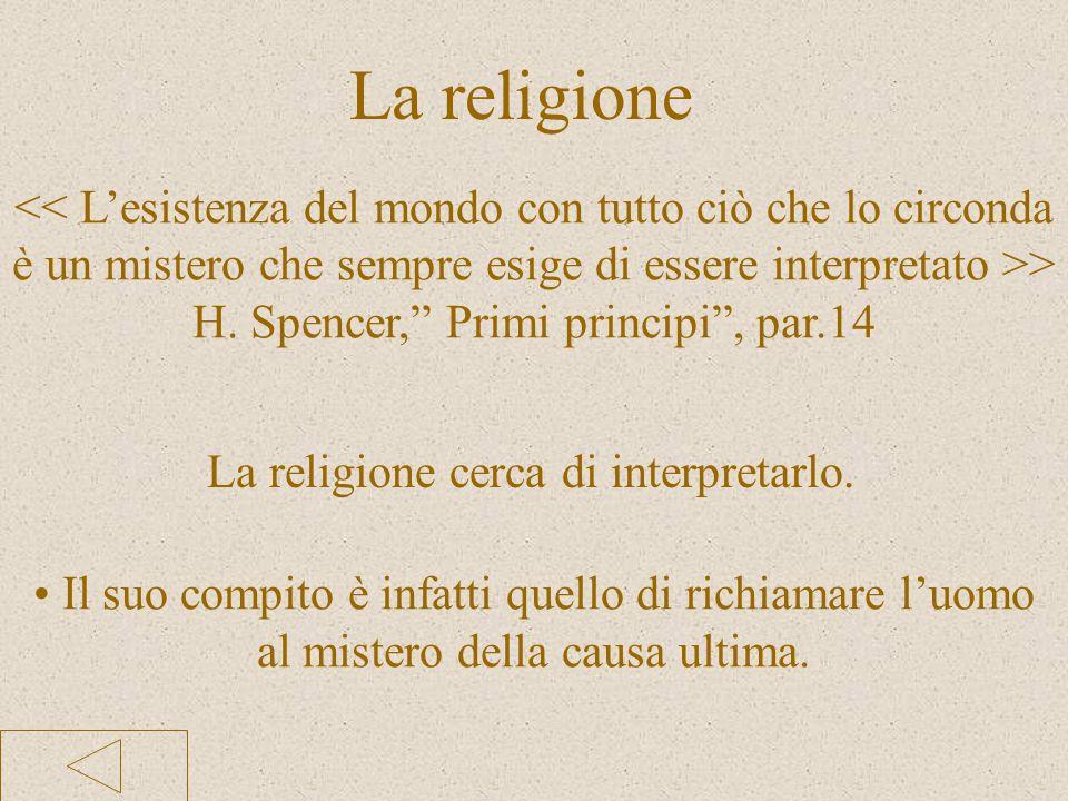 H. Spencer, Primi principi , par.14