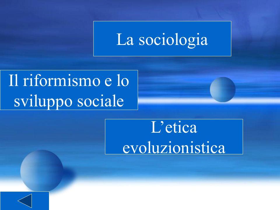Il riformismo e lo sviluppo sociale