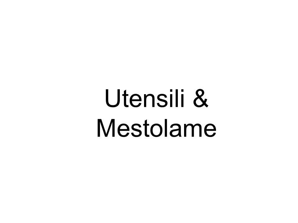 Utensili & Mestolame