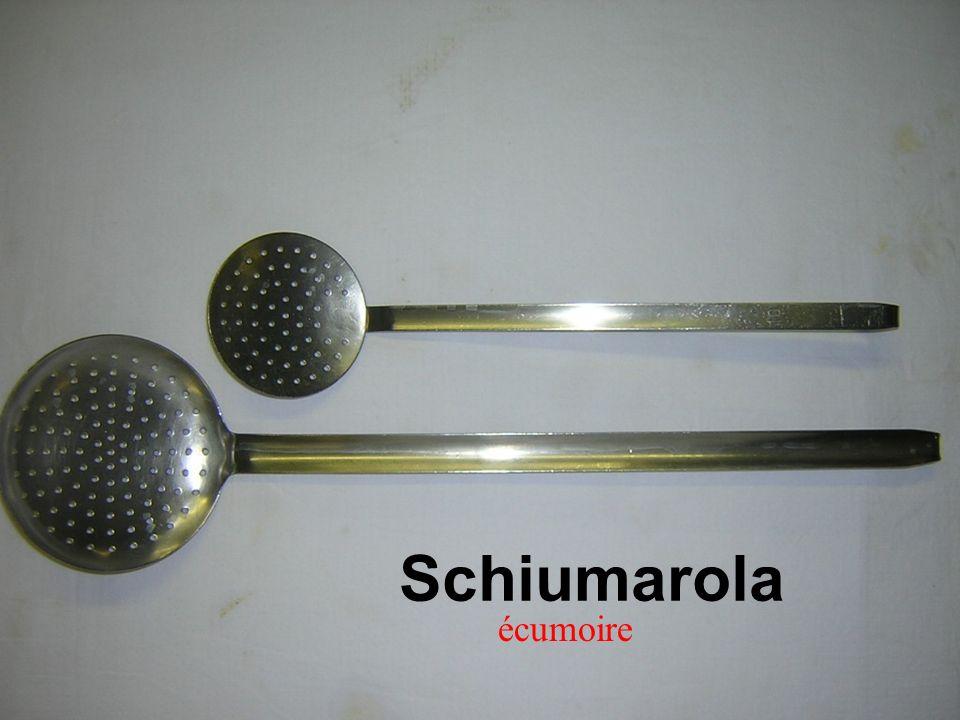 Schiumarola écumoire