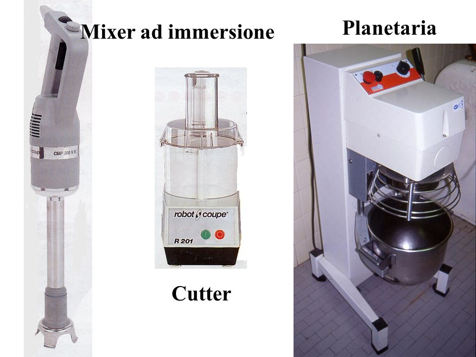 Planetaria Mixer ad immersione Cutter