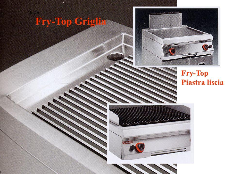 Griglia Fry-Top Griglia Fry-Top Piastra liscia