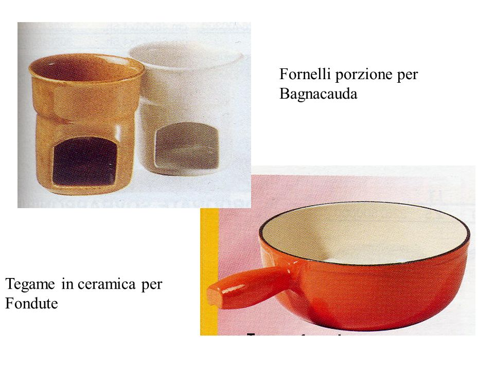 Fornelli porzione per Bagnacauda