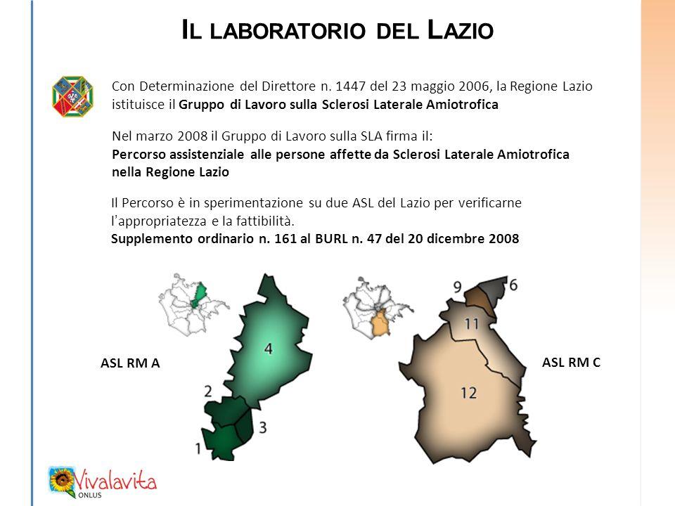 Il laboratorio del Lazio