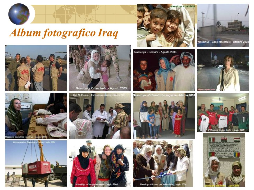 Album fotografico Iraq