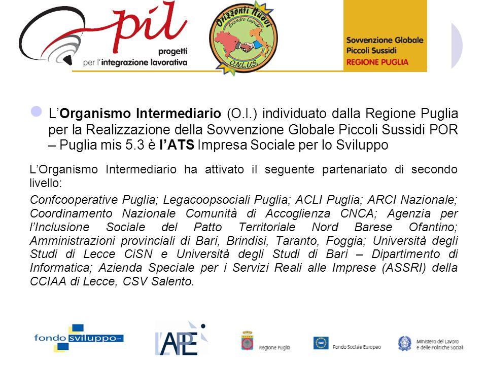 L'Organismo Intermediario (O. I