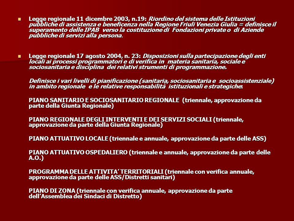 Legge regionale 11 dicembre 2003, n