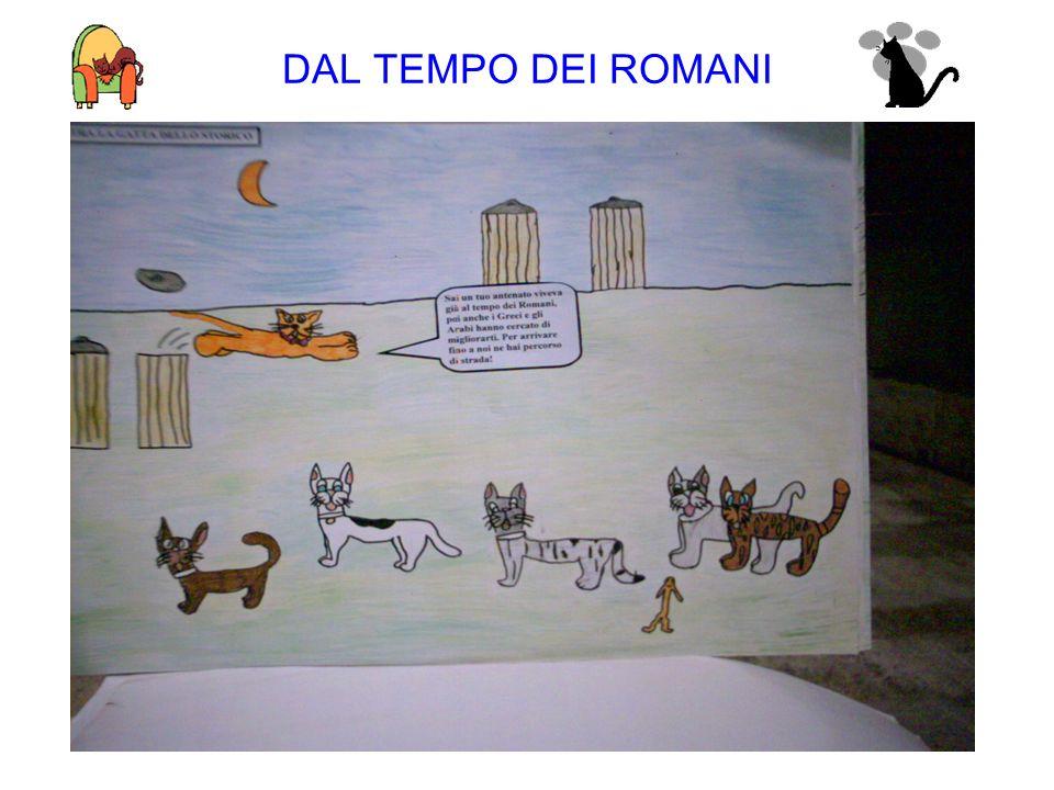 DAL TEMPO DEI ROMANI