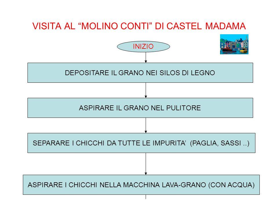 VISITA AL MOLINO CONTI DI CASTEL MADAMA