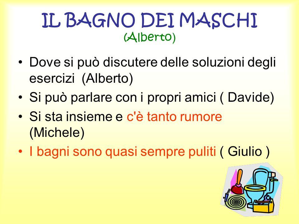 IL BAGNO DEI MASCHI (Alberto)