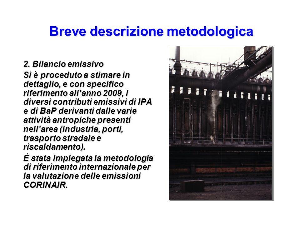 Breve descrizione metodologica
