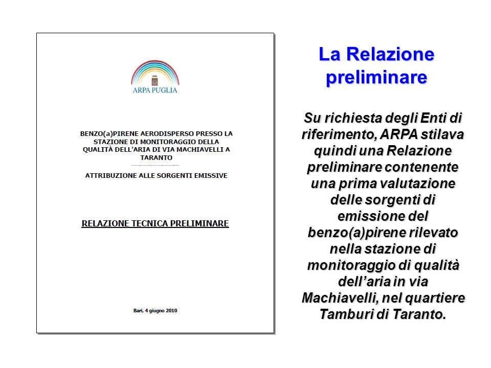 La Relazione preliminare
